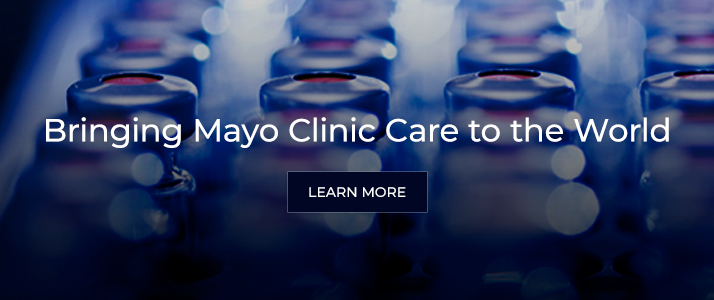 Bringing Mayo Clinic Care to the World